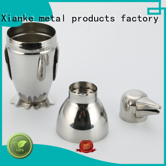 hot-sale personalized cocktail shaker body for boston Xianke