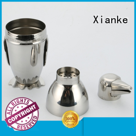 custom glass shaker menu printing for wholesale Xianke