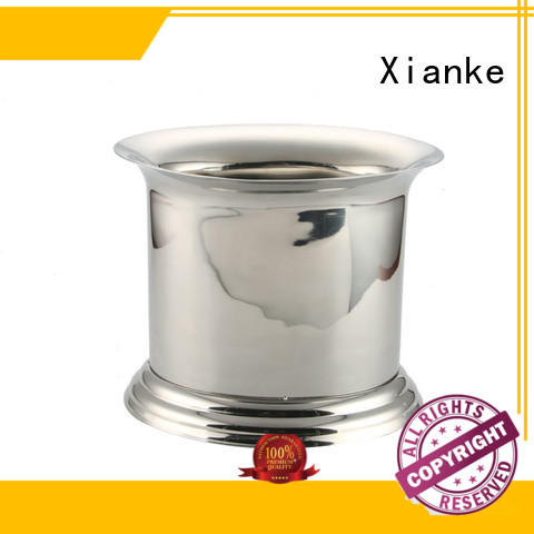 durable ice cube bucket stainless steel bottle for party Xianke