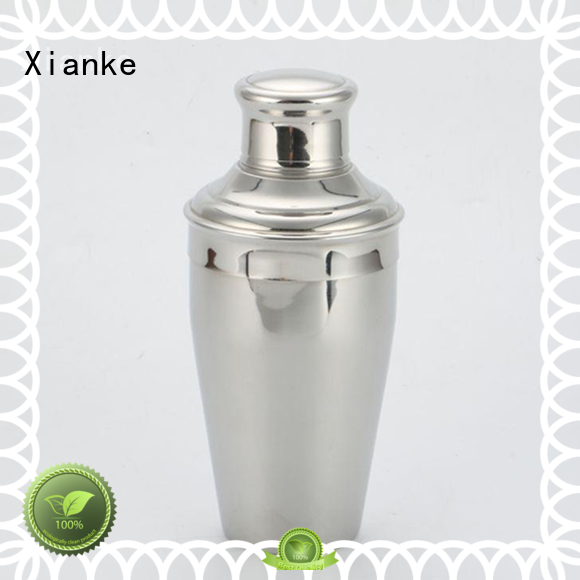 cheapest stainless steel cocktail shaker hot-sale glass for martini