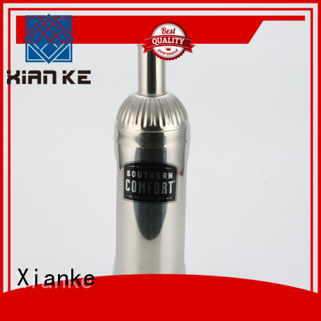 Xianke bulk order cheap stainless steel cocktail shaker chic design for vodka
