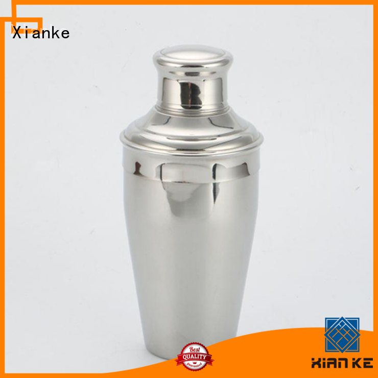 stainless steel barware shaker top selling bottle for cocktail