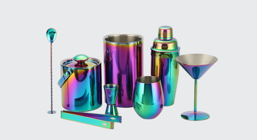 popular stainless steel cocktail shaker set custom for club Xianke