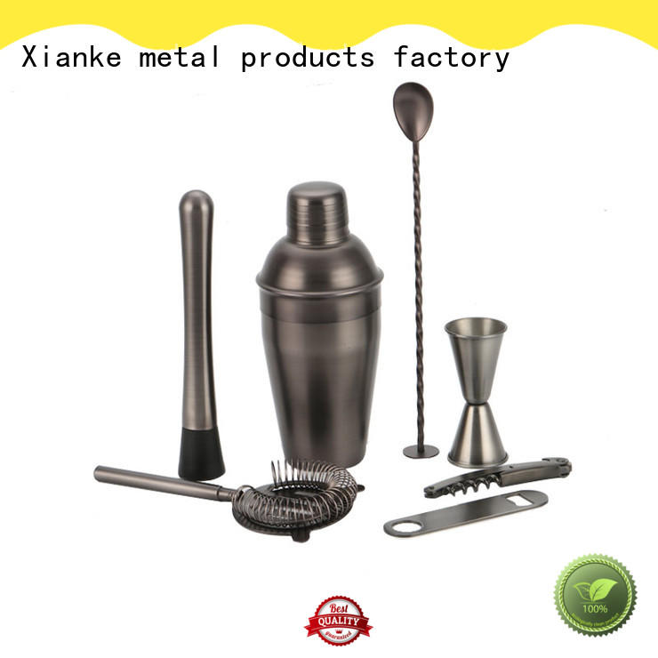 stainless steel cocktail martini shaker set set for wholesale