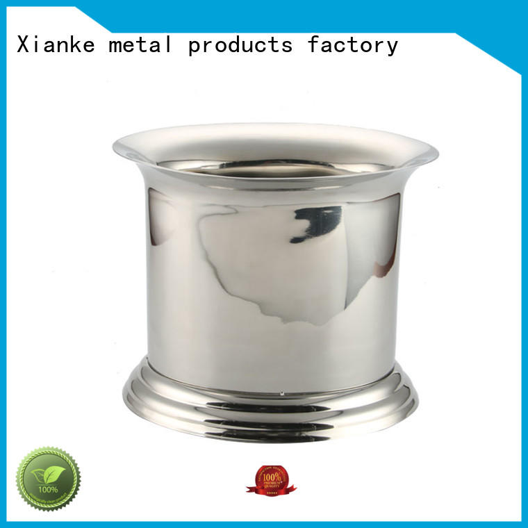 Xianke highly-rated stainless champagne bucket bottle for party
