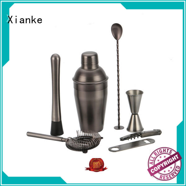 electroplated stainless steel martini set universal bulk order for club
