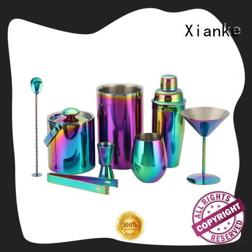 electroplated barware cocktail set hot-sale bulk order for bartender