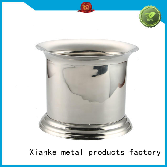 Xianke large capacity stainless steel wine cooler bucket sloped for club