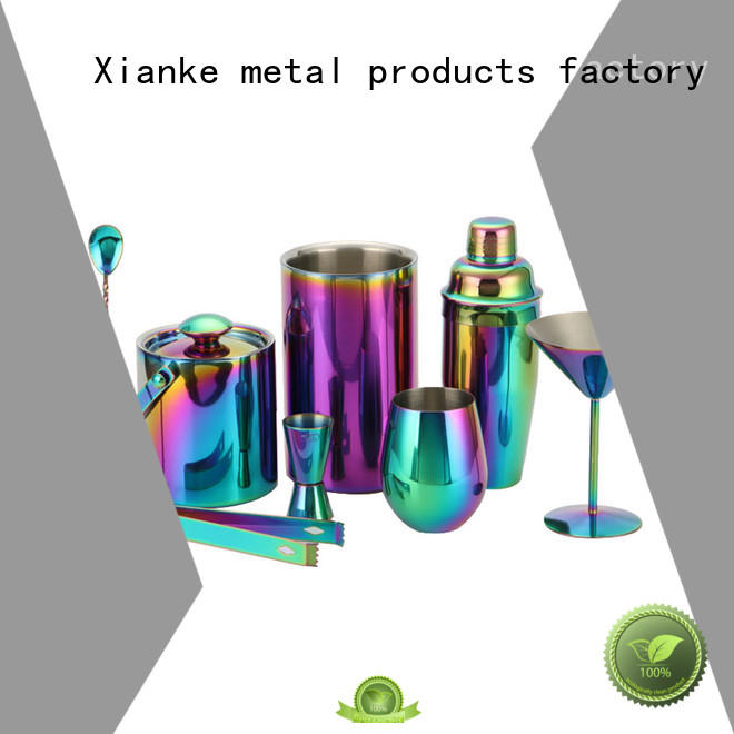 Xianke vintage mini cocktail shaker set top brand for wholesale
