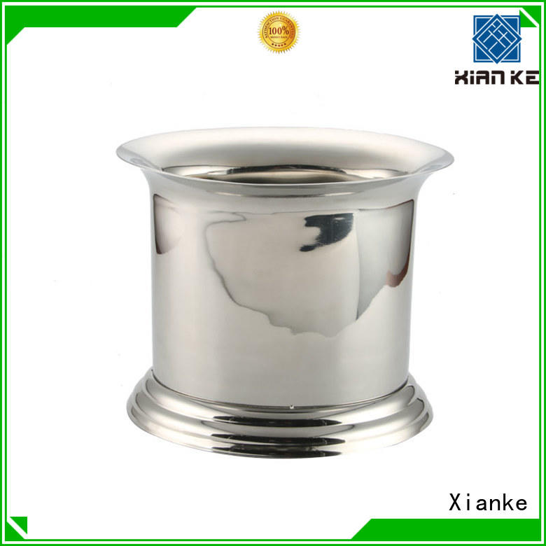 Xianke high quality stainless wine bucket handle for bar