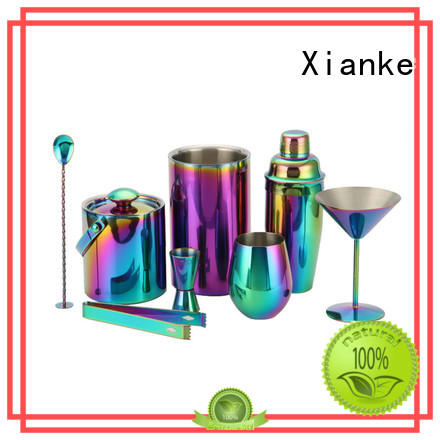 Xianke mixing bar set with shaker set cocktail
