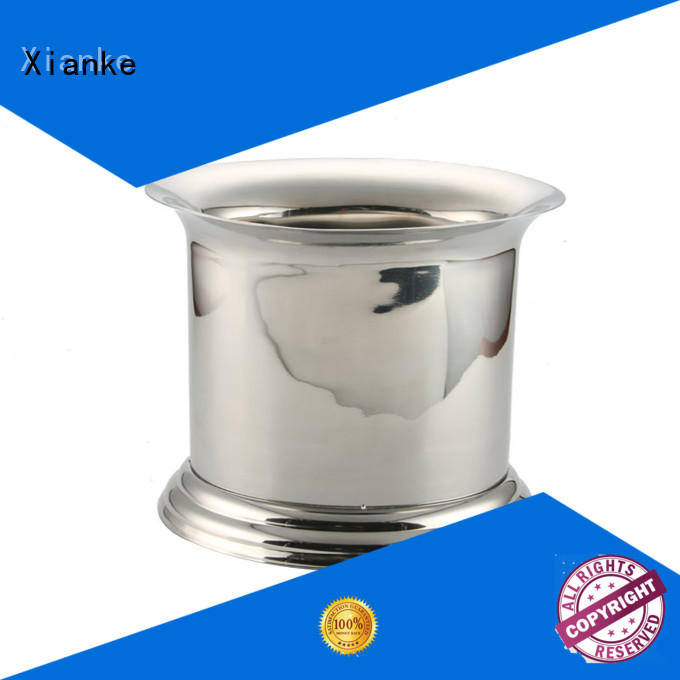 shaped ice bucket tongs stainless steel cooler for party