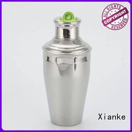 Xianke stainless steel bar shaker body for boston