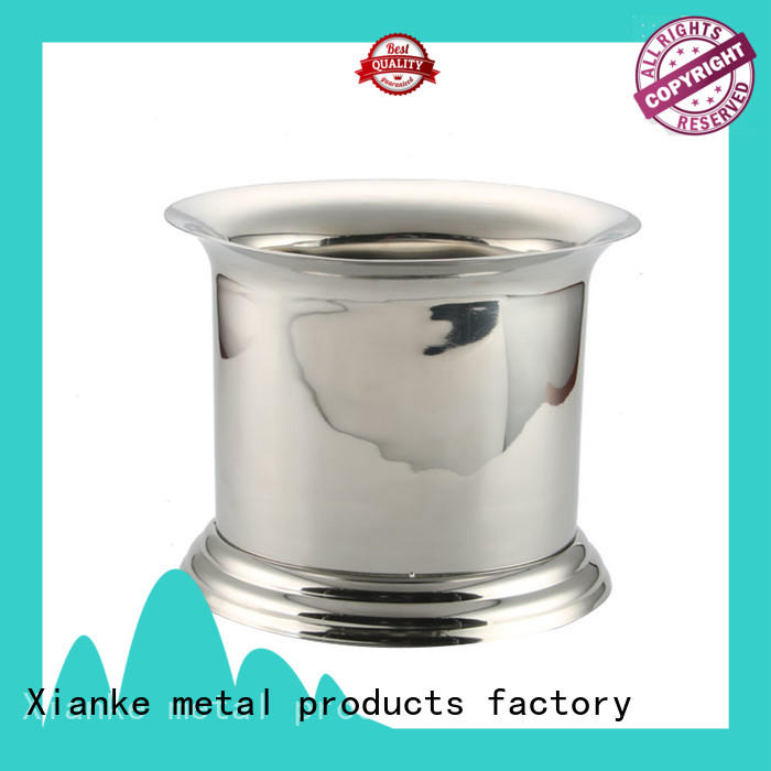 Xianke stainless steel ice bucket stainless ball for club