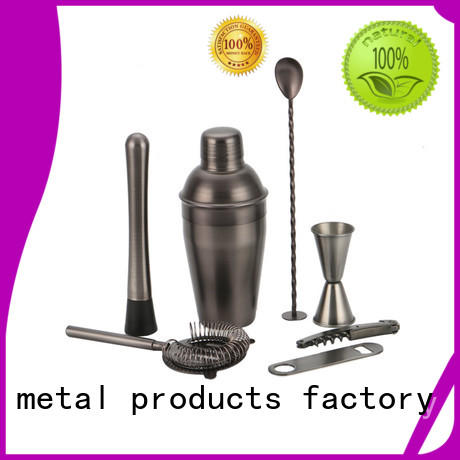 stainless steel barware cocktail set universal gun for club