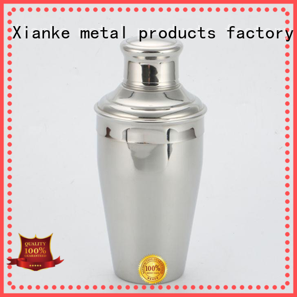 Xianke top selling stylish cocktail shaker chic design for cocktail