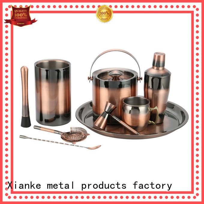 copper stainless steel bar set top brand set bar ware