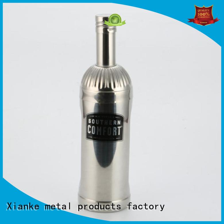 Xianke custom shaker steel chic design for vodka