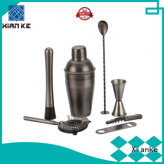 Xianke electroplated bar tool set custom for wholesale