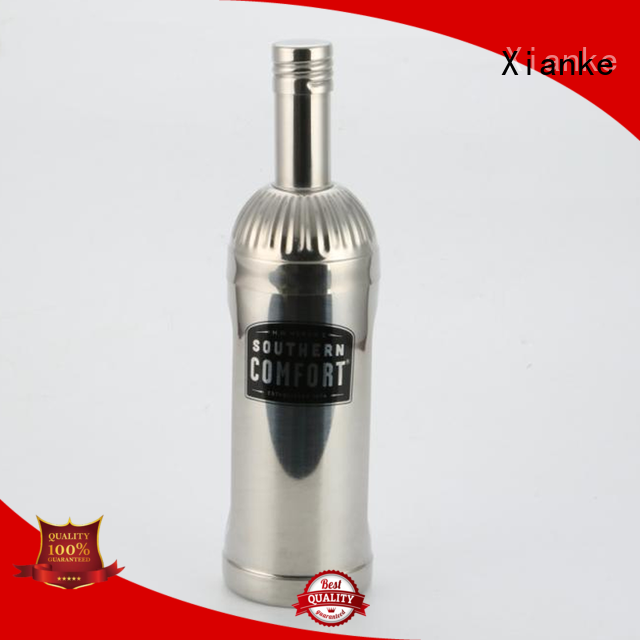 Xianke hot-sale stainless drink shaker menu printing for martini