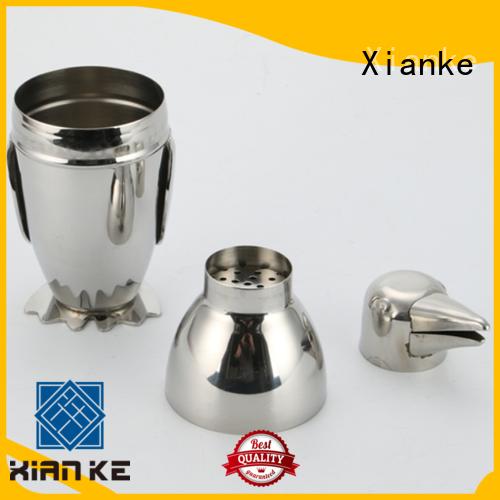 Xianke factory price shaker manufacturer menu printing for martini