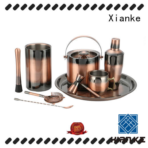 unique stainless steel bar set hot-sale for club Xianke