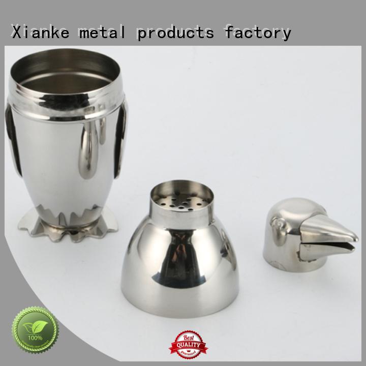 Xianke hot-sale shaker manufacturer body for martini