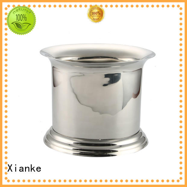 Xianke divider stainless wine cooler buckets zinc alloy for gathering